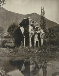 Kashmir. Temple of Meruvarddhanaswami at Pandrethan near Srinagar. View of north-west face. Probable date A.D. 913 to 921